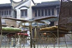 Ruhige Farbe in Wuzhen Stockfoto