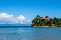Ruhige Ferien auf der Insel Mindoro Lizenzfreies Stockbild