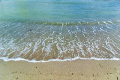 Ruhige Küstenlinie Lizenzfreie Stockfotos