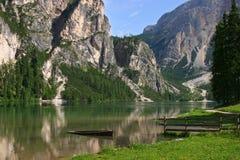 Ruhige Landschaft in Tirol lizenzfreie stockbilder