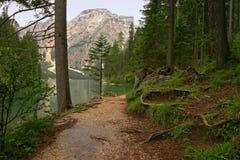 Ruhige Landschaft in Tirol Stockbild