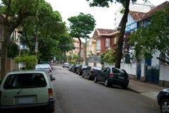 Ruhige Straße - Rio de Janeiro - Brasilien Stockbilder