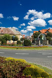 Ruhige und schöne Stadt Lizenzfreies Stockbild