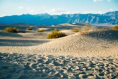 Ruhige Wüste in Death Valley Lizenzfreies Stockbild