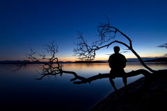 Ruhiger Abend lizenzfreies stockfoto