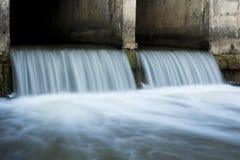 Ruhiger Abflusskanal Lizenzfreie Stockfotografie