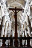 Ruhiger Besuch zur Kathedrale stockbild