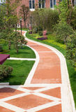 Ruhiger Garten Stockfoto