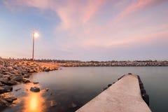 Ruhiger Hafen Stockbild