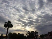 Ruhiger Himmel Stockfoto