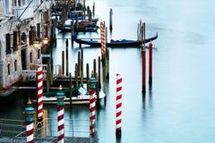 Ruhiger Kanal in Venedig Stockbild
