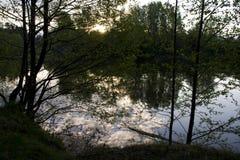 Ruhiger Morgen Stockbild