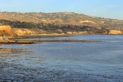 Ruhiger Nachmittag bei Palos Verdes, Kalifornien lizenzfreies stockfoto