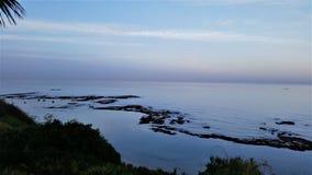 Ruhiger Ozean Stockbild