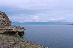 Ruhiger See Baikal Lizenzfreies Stockbild