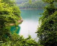 Ruhiger See in Tokyo Stockbild
