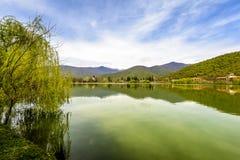 Ruhiger See Vista Lizenzfreies Stockfoto
