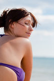 Ruhiger Strand lizenzfreie stockfotos