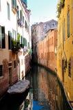 Ruhiger Venedig-Kanal Stockfoto
