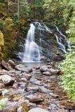 Ruhiger Wasserfall Lizenzfreie Stockfotos