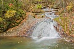 Ruhiger Wasserfall in Virginia USA Stockbild
