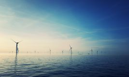 Ruhiger Wind Stockfotografie
