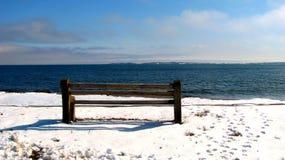 Ruhiger Winter Stockbild