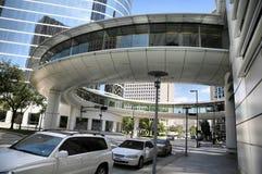Ruhiges im Stadtzentrum gelegenes Houston Stockfotos