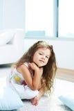 Ruhiges Mädchen lizenzfreie stockfotos