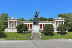 Free Ruhmeshalle Hall Of Fame With Statue Of Bavaria In Munich, Germany Stock Photo - 94125720