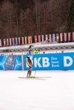 Ruhpolding, Allemagne, 01/06/2016 : en avant Ruhploding de biathlon de du monde de coupé de La de bar de l'ONU de dans de russe d Photos libres de droits
