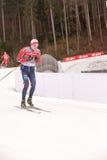 Ruhpolding, Allemagne, 2016/01/06 : formation avant la coupe du monde de biathlon dans Ruhploding Photos stock