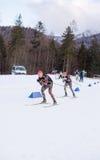 Ruhpolding, Allemagne, 2016/01/06 : formation avant la coupe du monde de biathlon dans Ruhploding Images libres de droits