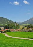 Ruhpolding,Bavaria,Chiemgau,Germany Royalty Free Stock Photo