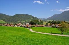 Ruhpolding, Baviera, Chiemgau, Germania Fotografie Stock Libere da Diritti