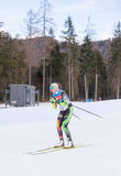 Ruhpolding, Germany, 2016/01/06: training before the Biathlon World Cup in Ruhploding Stock Photography