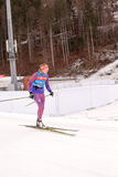 Ruhpolding, Germany, 2016/01/06: training before the Biathlon World Cup in Ruhploding Royalty Free Stock Photo