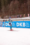 Ruhpolding, Germany, 2016/01/06: training before the Biathlon World Cup in Ruhploding Stock Photo