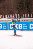 Ruhpolding, Germany, 2016/01/06: training before the Biathlon World Cup in Ruhploding Stock Image