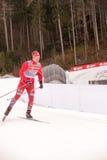 Ruhpolding, Niemcy, 2016/01/06: trenować przed Biathlon pucharem świata w Ruhploding Zdjęcie Royalty Free