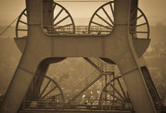 Ruhr, Germania - cuore industriale di Europa Fotografia Stock Libera da Diritti