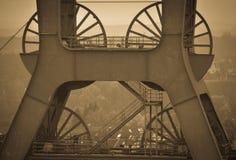 Ruhr Tyskland - industriell hjärta av Europa Royaltyfri Fotografi