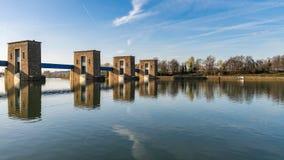 Ruhrwehr Duisburg, Duitsland royalty-vrije stock afbeeldingen