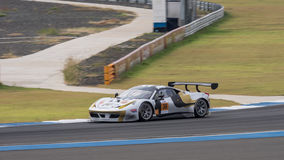 Rui Agus of Spirit of Race in Asian Le Mans Series - Race at 201 Stock Images