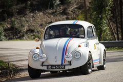 Rui Gama drives a VW 1500 Stock Photos