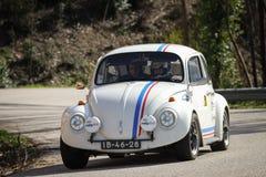 Rui Gama kör en VW 1500 Arkivfoton