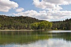 Ruidera National Park Waterfalls. Ruidera National Park Spain waterfalls Royalty Free Stock Images