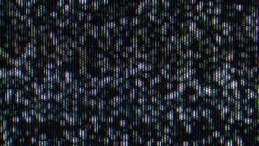 Ruido de la televisión, efecto real del ruido