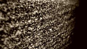Ruido de la TV almacen de metraje de vídeo