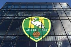RUIDO Den Haag del club del fútbol de la liga primera del estadio de Kyocera. foto de archivo libre de regalías